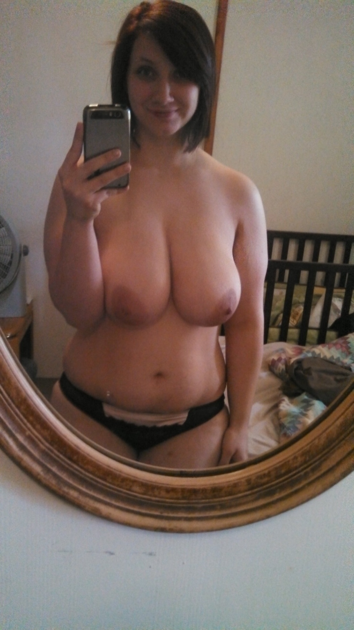 Boobs selfie chubby girl big