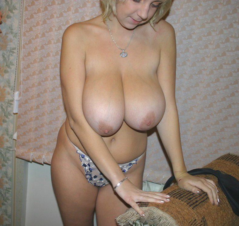 breasts big women Amateur with