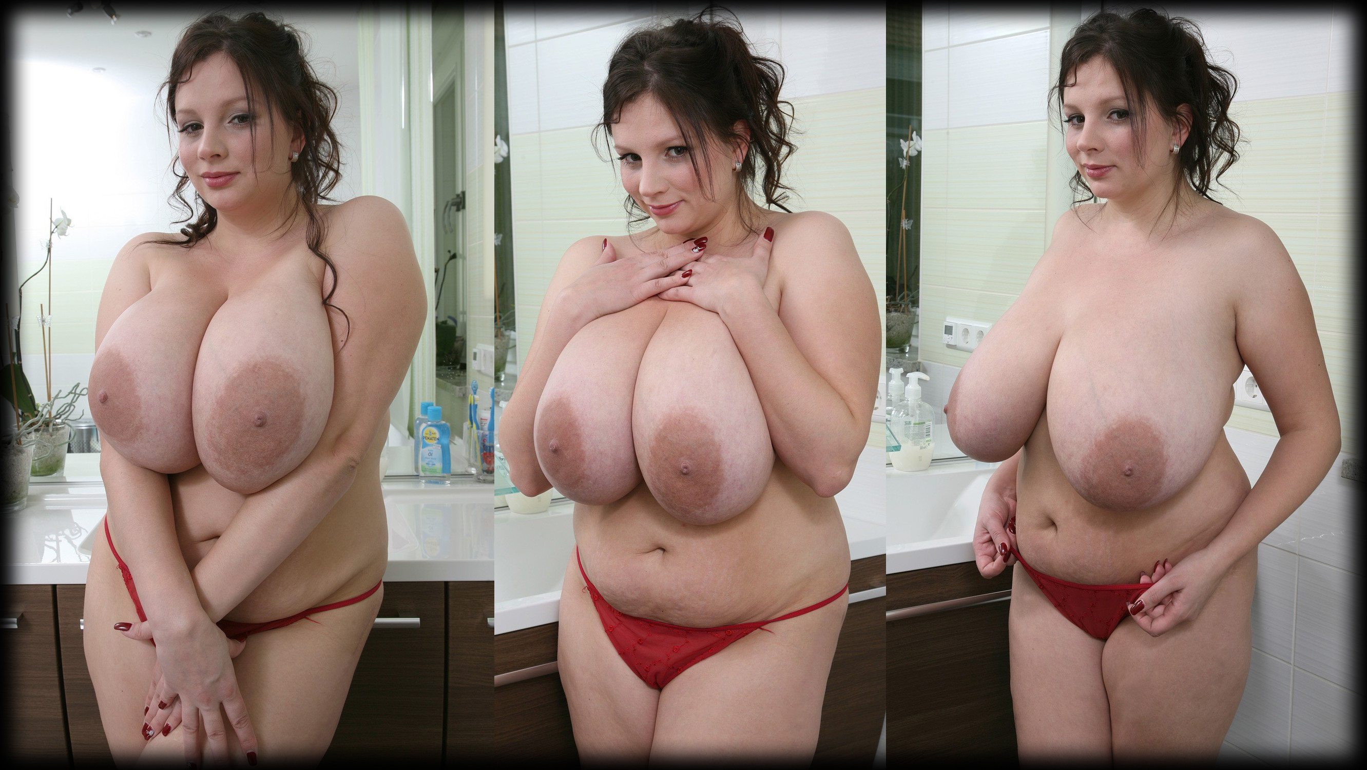 Bbw large breasts
