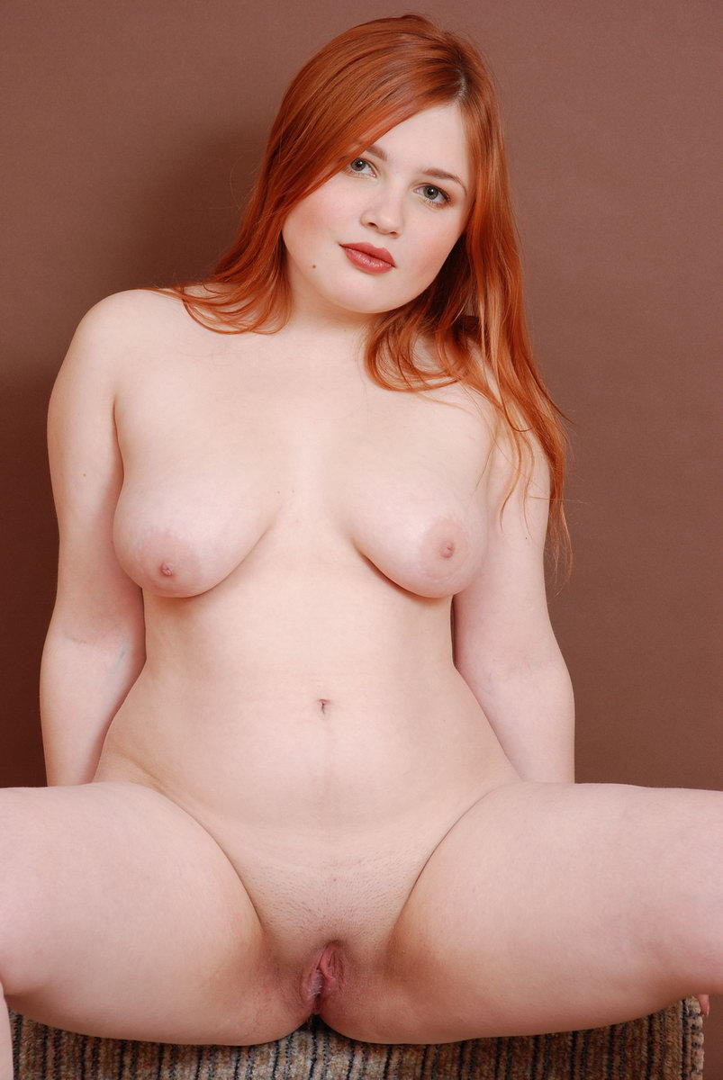 Curvy pale redhead girl masturbates with pink lush vibrator i am 23