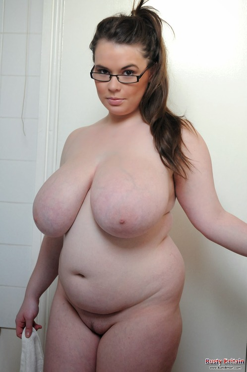 Chubby pornstar in glasses