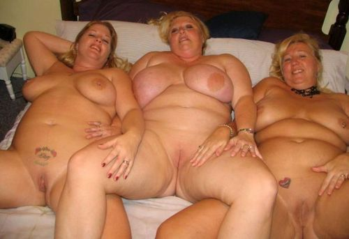 Three fat grannies