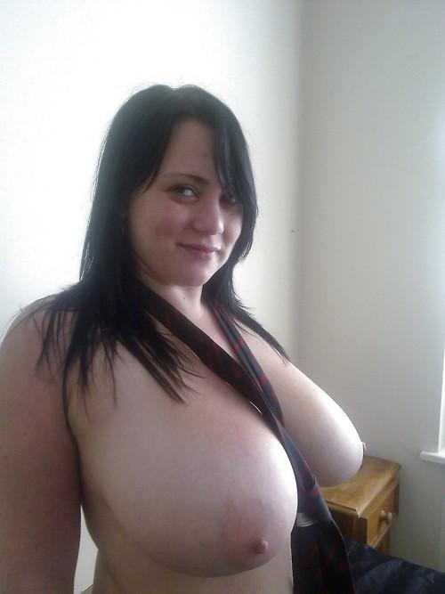 Big tits at home