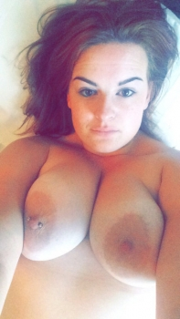 Young girl, big boobs