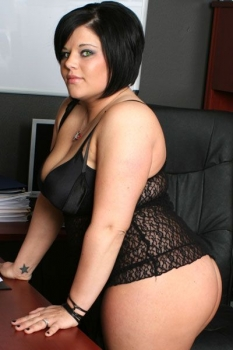 Hot bbw wife in lingerie