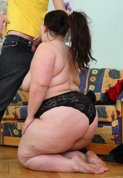 Bbw big fat ass mom
