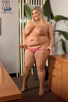 Kandi Kobain bbw pornstar, hot blonde with xxxl boobs