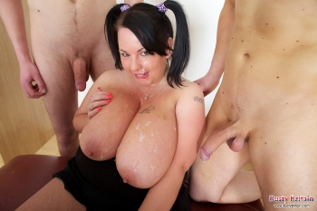 BBW facials, after titjob