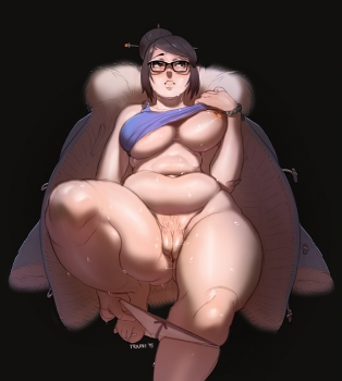 Mei XXX Overwatch Photo