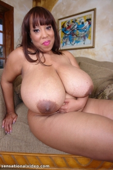 Ebony bbw nude with juicy boobs