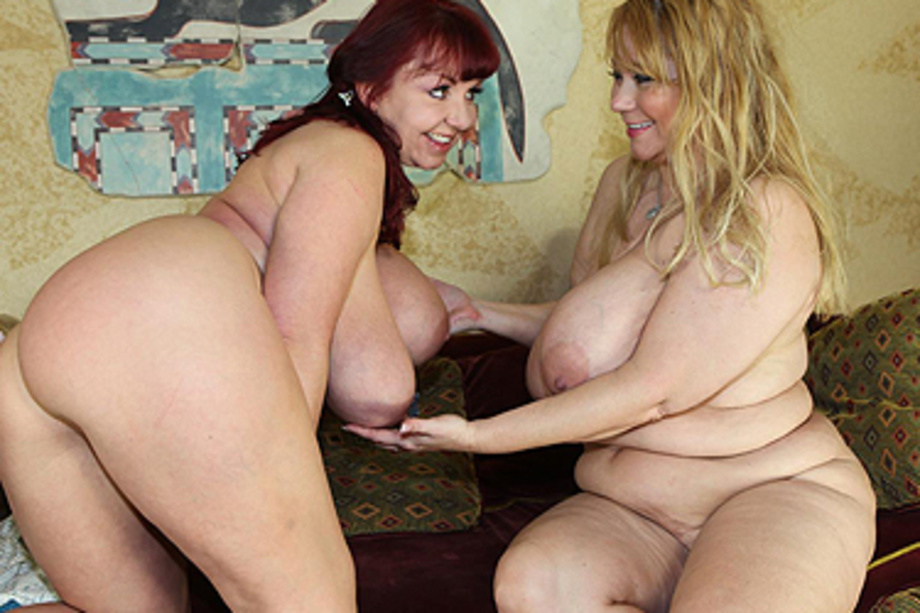 Two fat moms with huge titties
